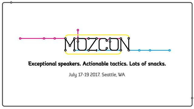 Bluefin is attending MozCon 2017 in Seattle Washington